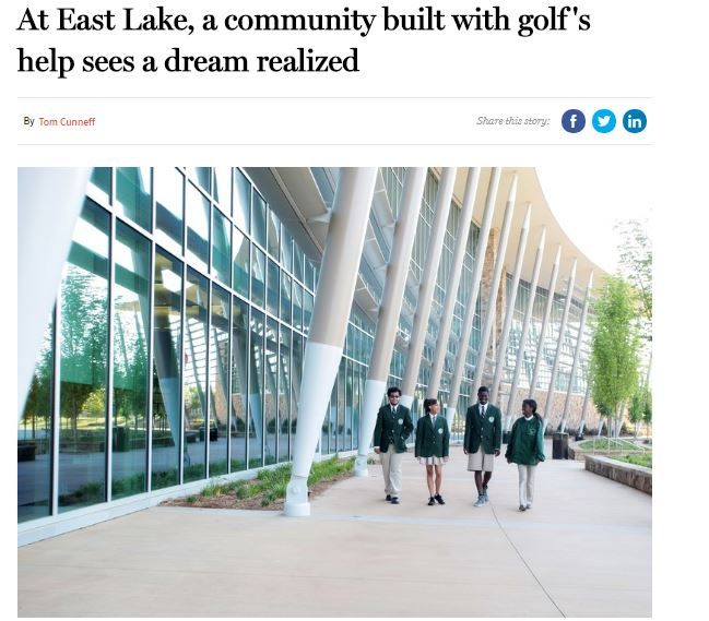 At East Lake, a Community Built with Golf's Help Sees a Dream Realized